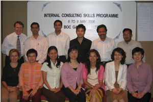 Internal Consulting Skills course - Hong Kong